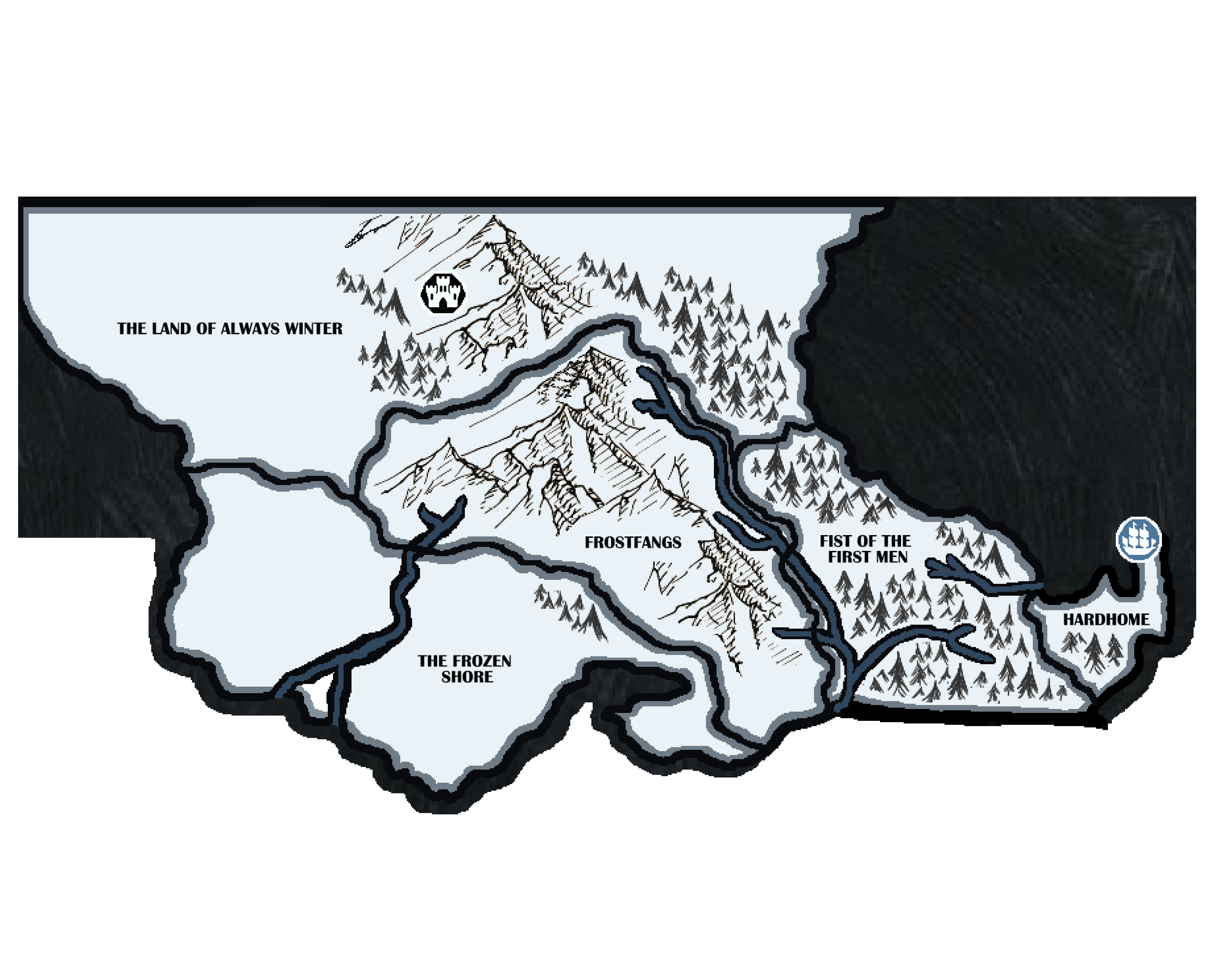 Risk: Game of Thrones - The White Walker Expansion by cjbarron on game of thrones castles art, game of thrones chart, game of thrones castle black wall, game of thrones wall art, map of land beyond the wall, westeros map beyond the wall, elevator game of thrones the wall, game of thrones cheat sheet, game of thrones scenery,