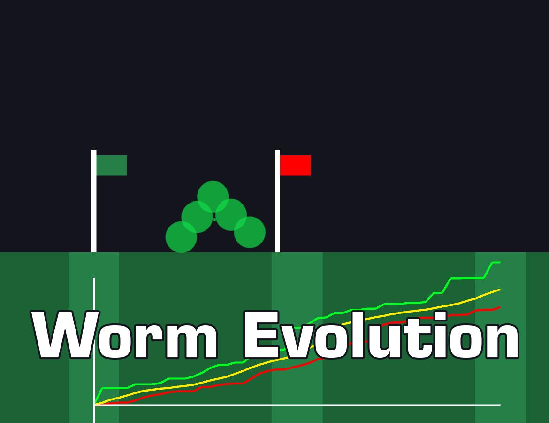 Creature Evolution - 2D Worm by Erik Brunnström
