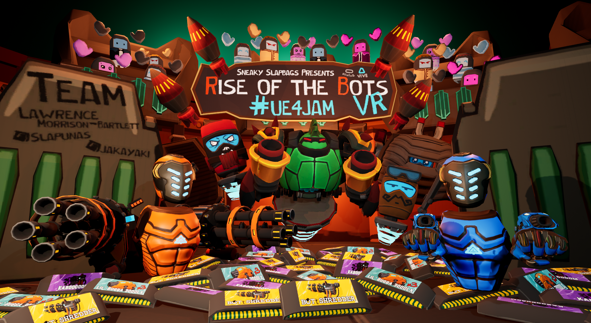 Rise of the Bots VR by Slapunas, jakayaki, 2sneaky for 2018 Spring
