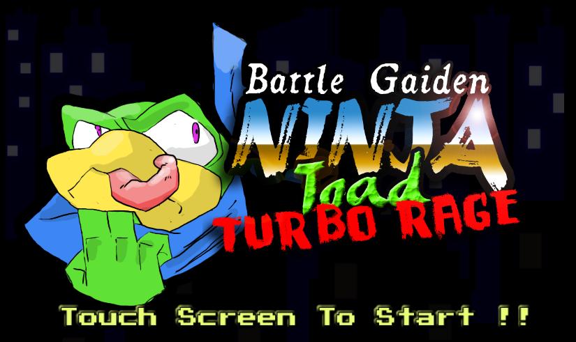 Battle Gaiden Ninja Toad Turbo By Gado