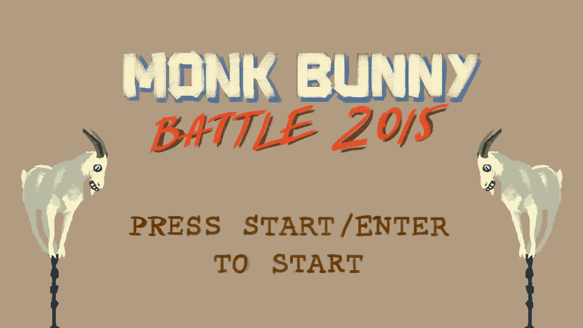 Monk Bunny Battle 2015