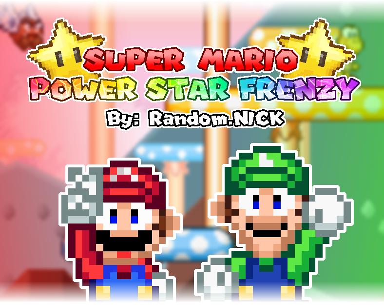 SUPER MARIO Power Star Frenzy by Nick Oztok