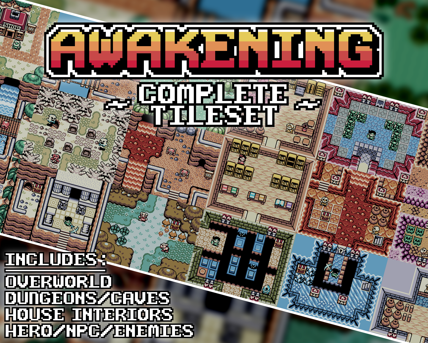 Awakening complete tileset by sodacoma altavistaventures Images