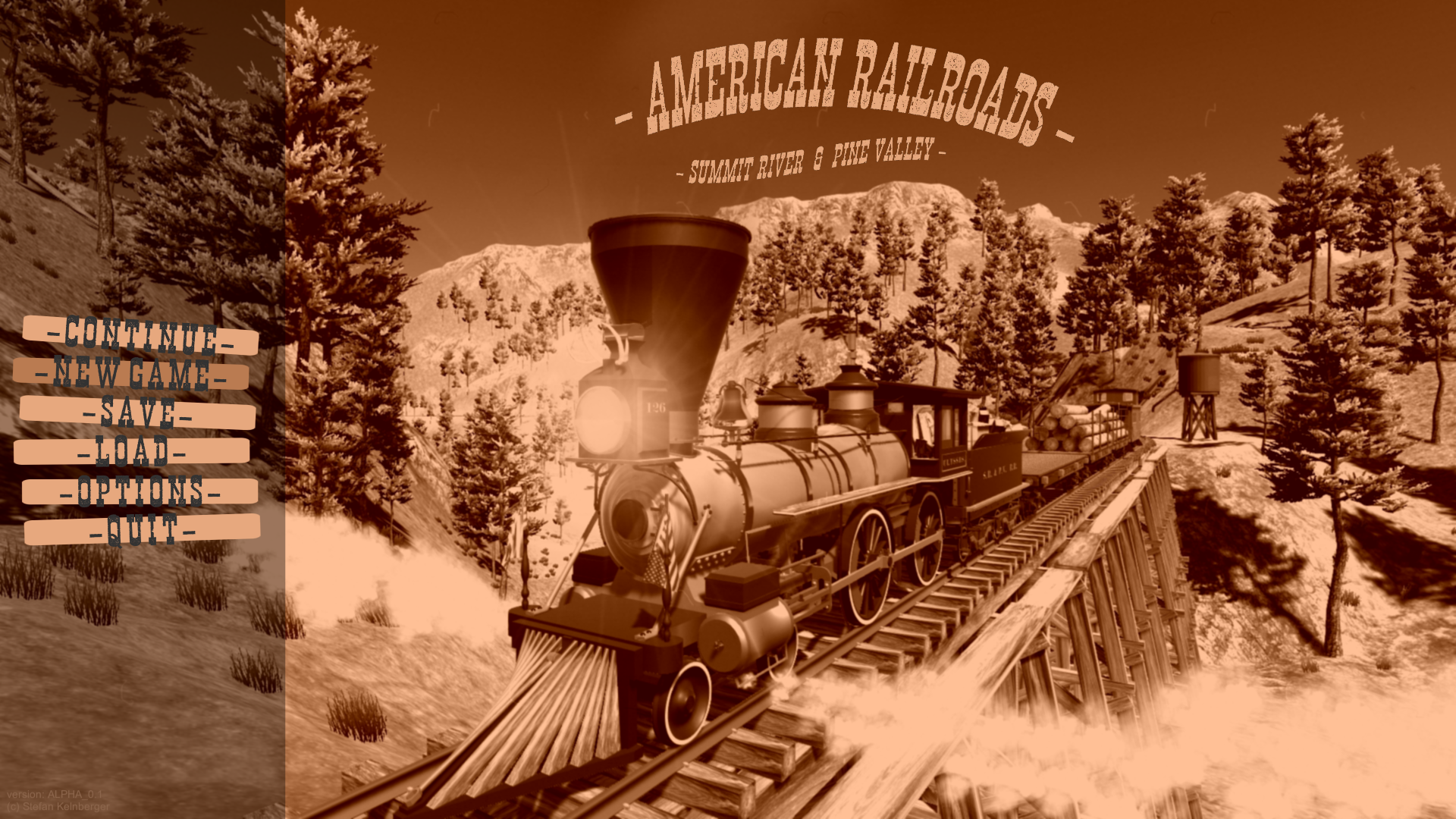 American Railroads - Summit River and Pine Valley by keume
