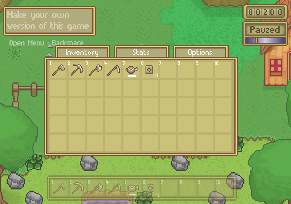 RPG Farming Kit by Lowscope