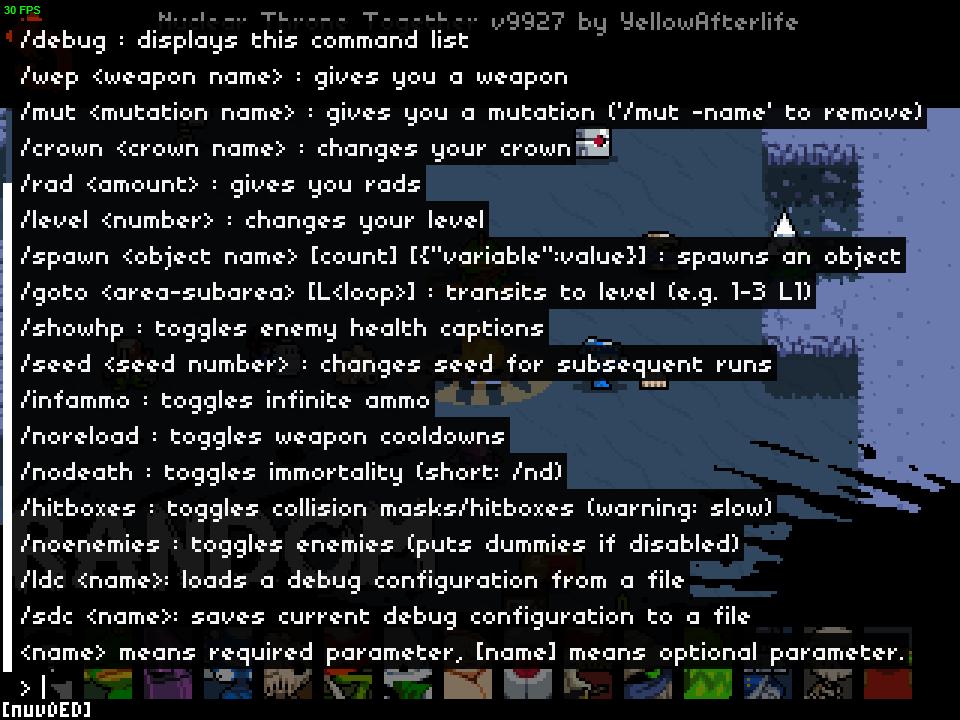 NTT debug mod by YellowAfterlife