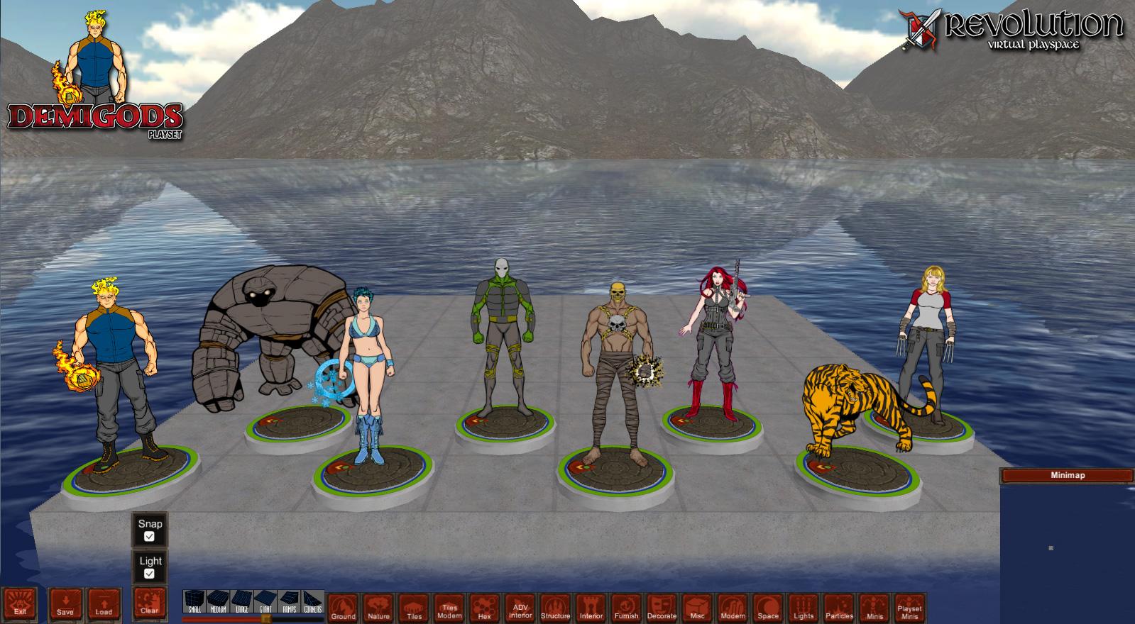 Revolution Virtual Pla...