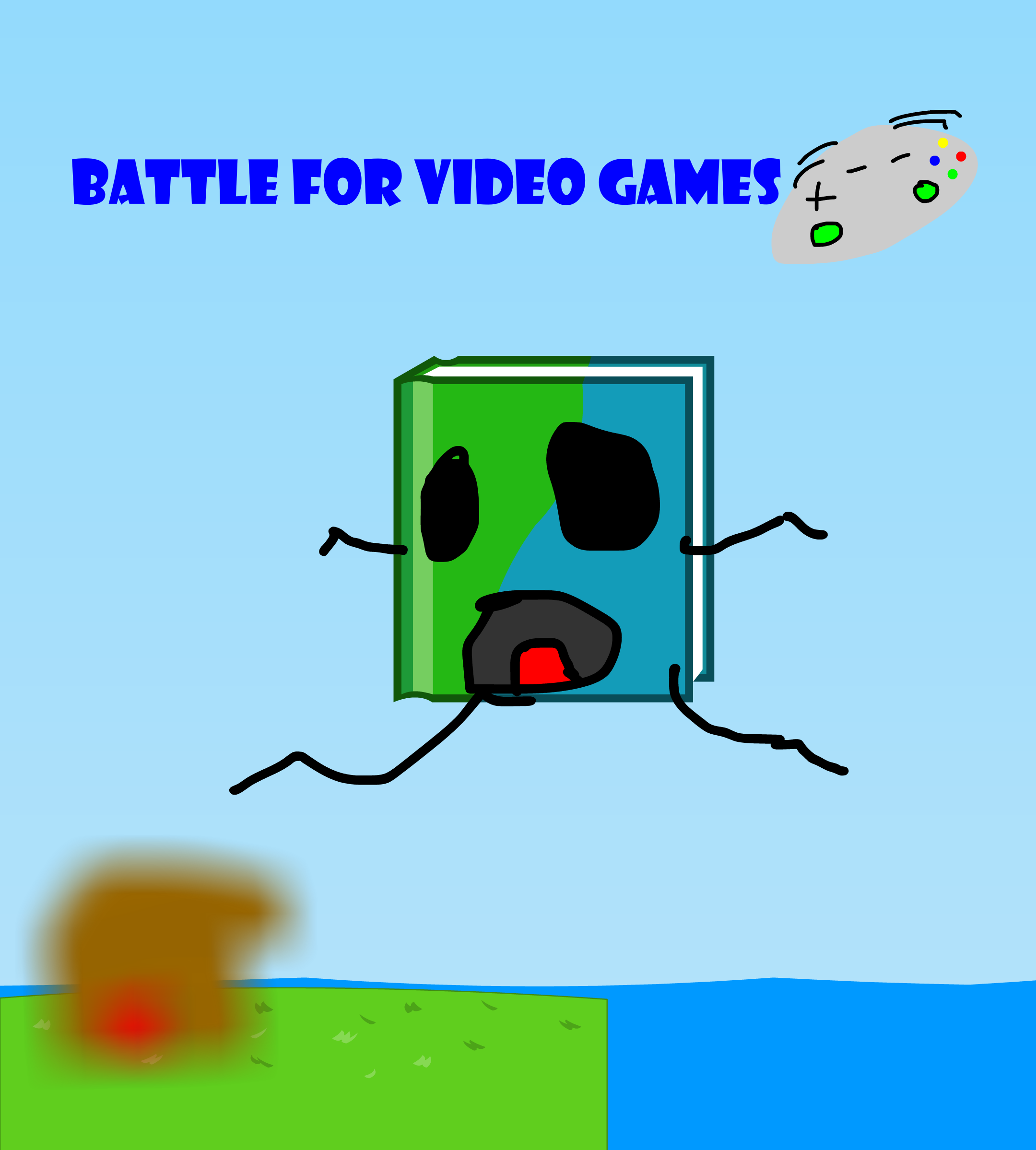 Battle for Video Game by MrScottyPieey