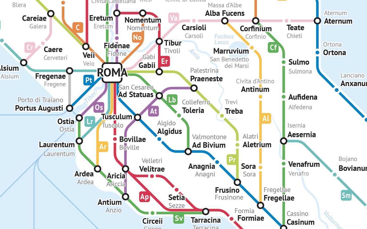 Roman Roads Of Italy By Sasha Trubetskoy