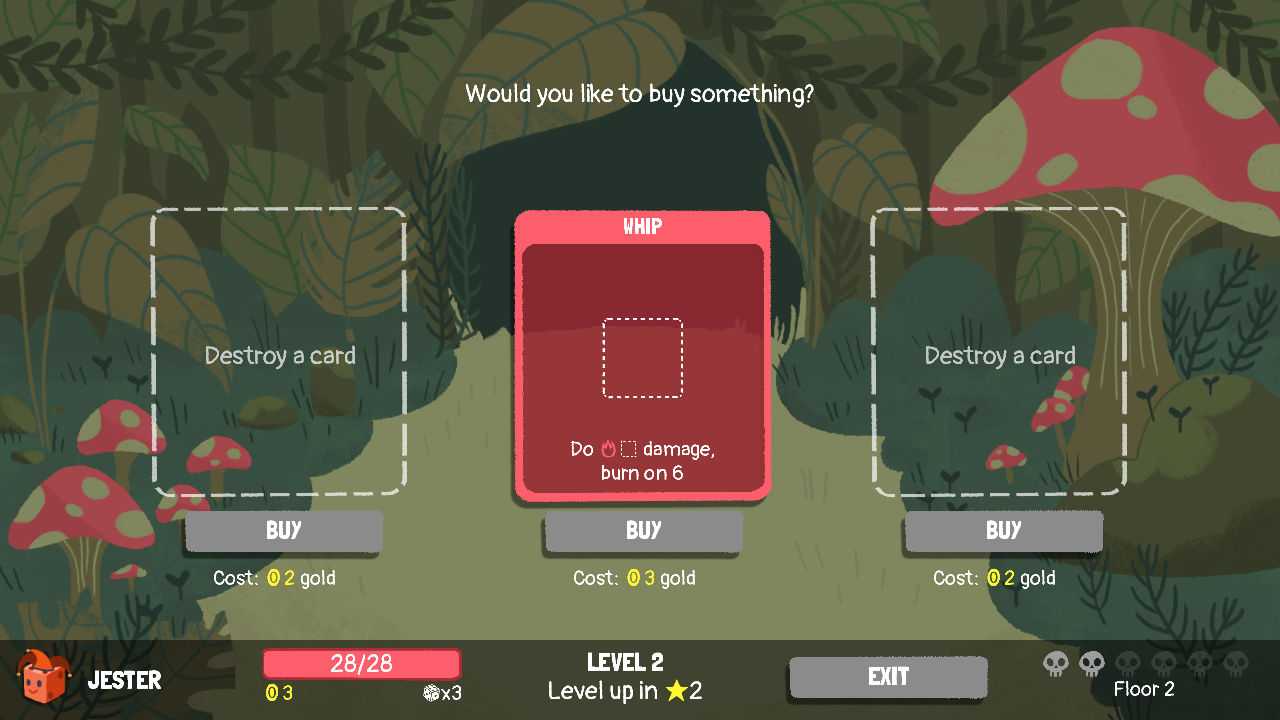 Dicey Dungeons by Terry Cavanagh, chipzel, Marlowe Dobbe