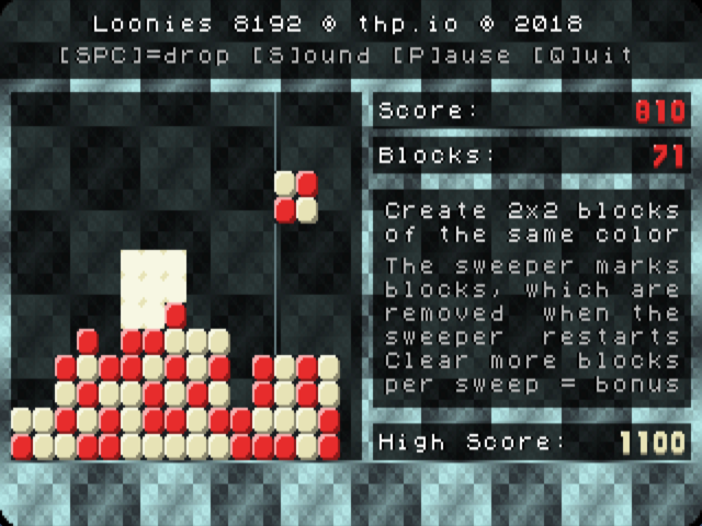 Developing for VGA + OPL-2 is fun - Loonies 8192 by thp