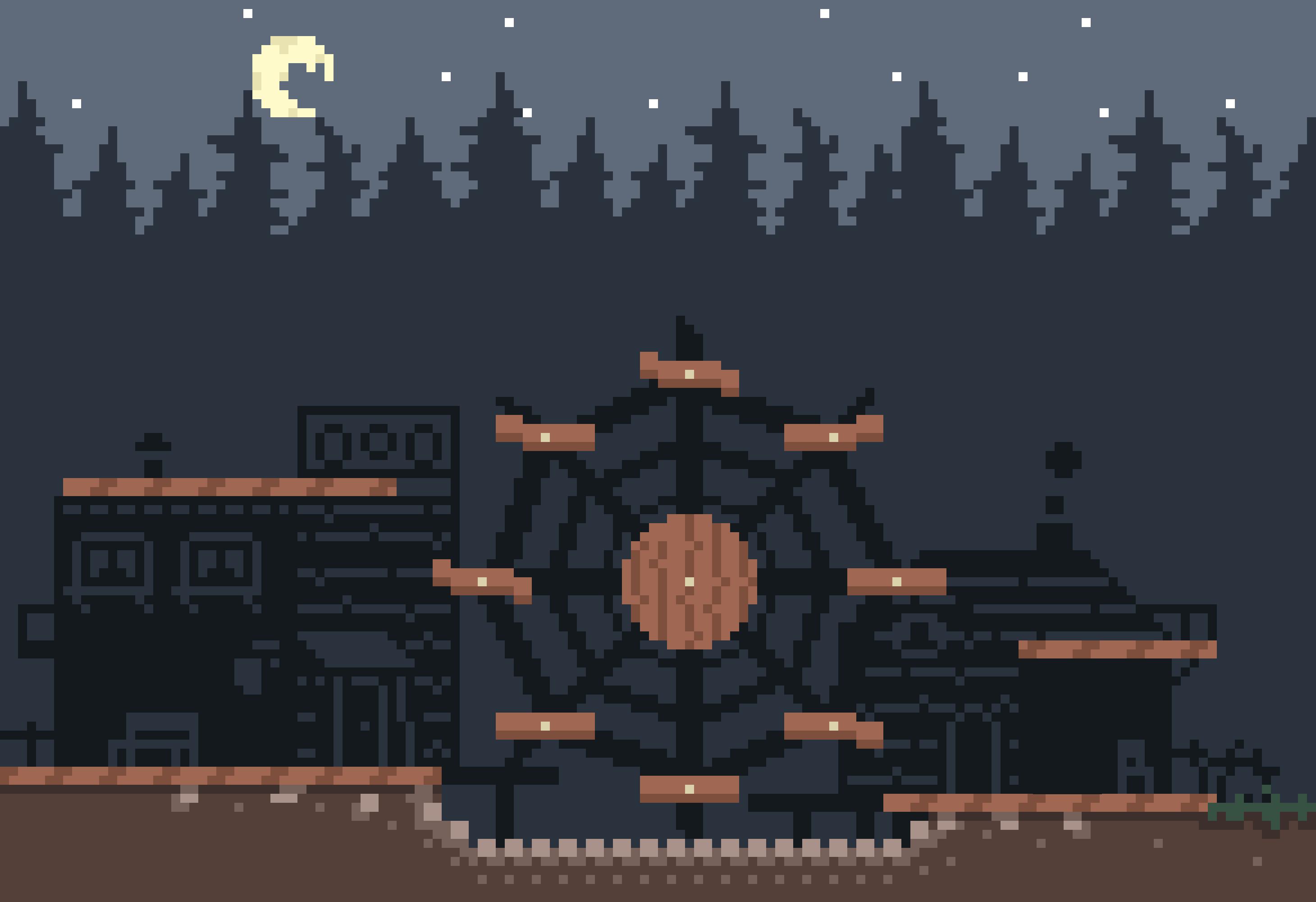 Spooky Ghost Wheel Town