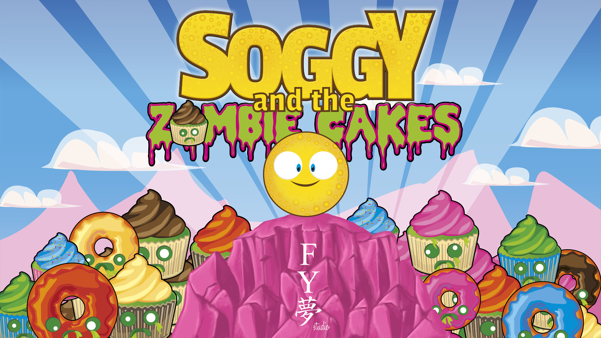 SOGGY and the ZOMBIE CAKES