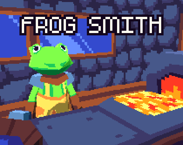 Frog Smith by CowThing for Godot Community Game Jam - June 2018