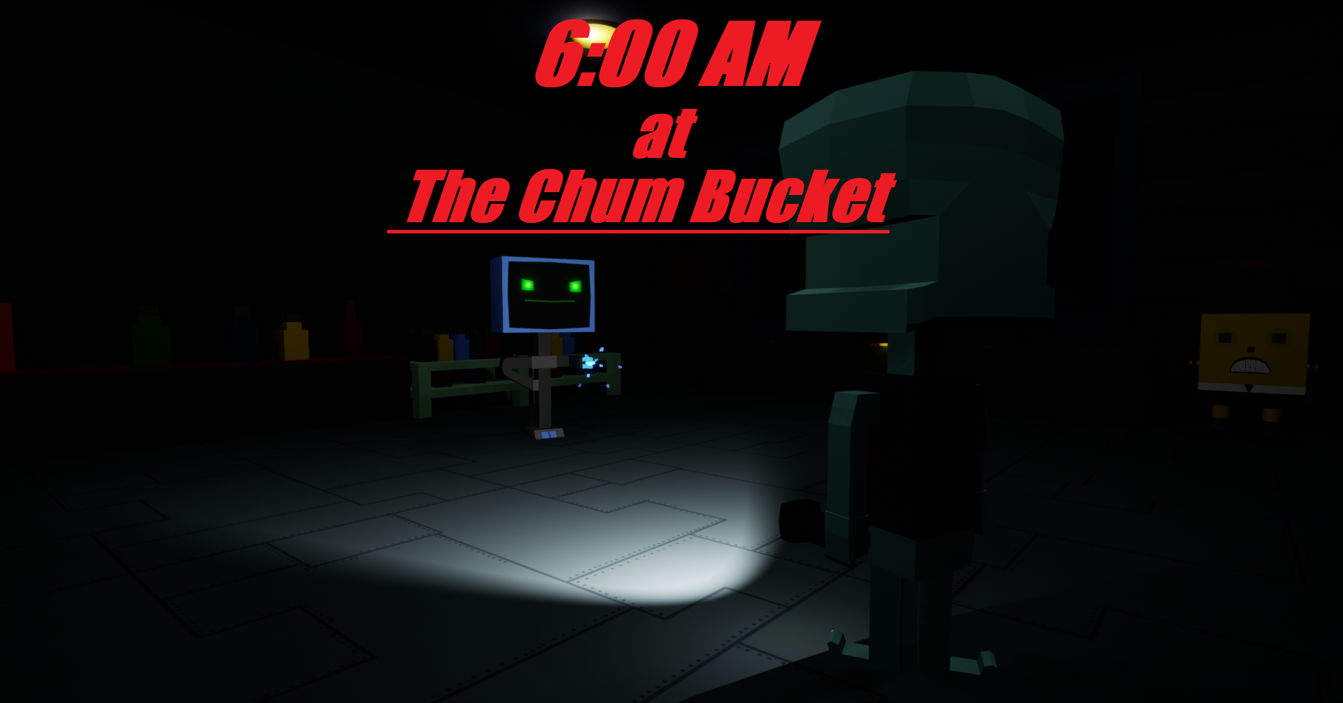 6 AM at The Chum Bucket by Dave Microwaves Games