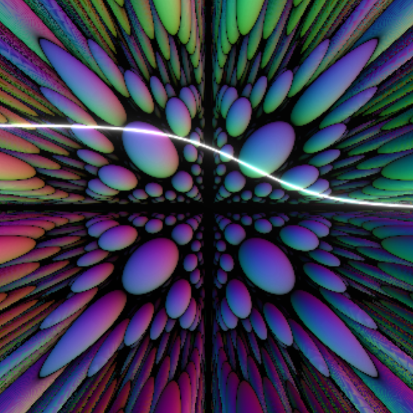 Distorted Raymarching by Leon