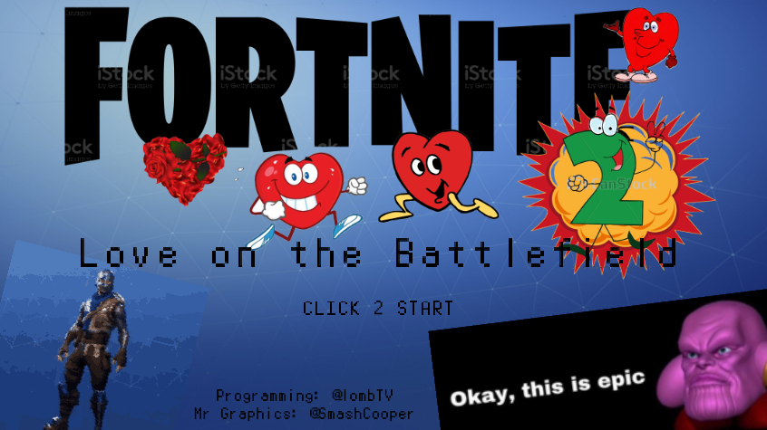 Fortnite 2: Love on the Battlefield by lombtv