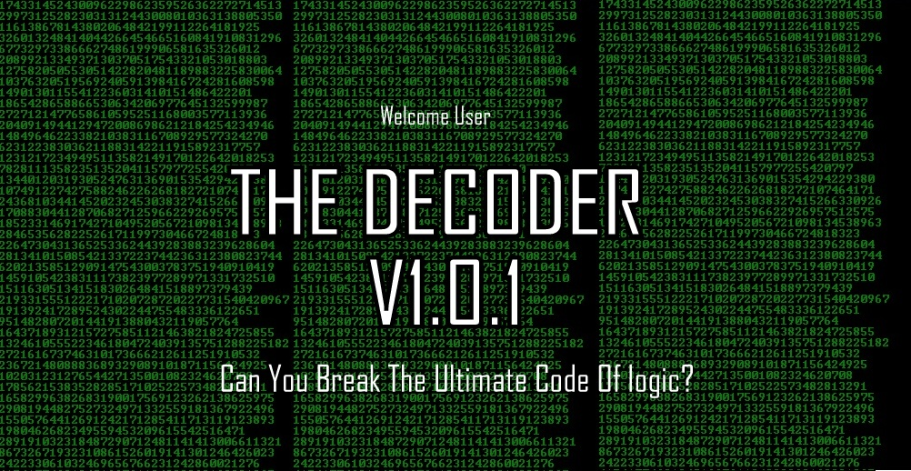 The Decoder V1.0.1