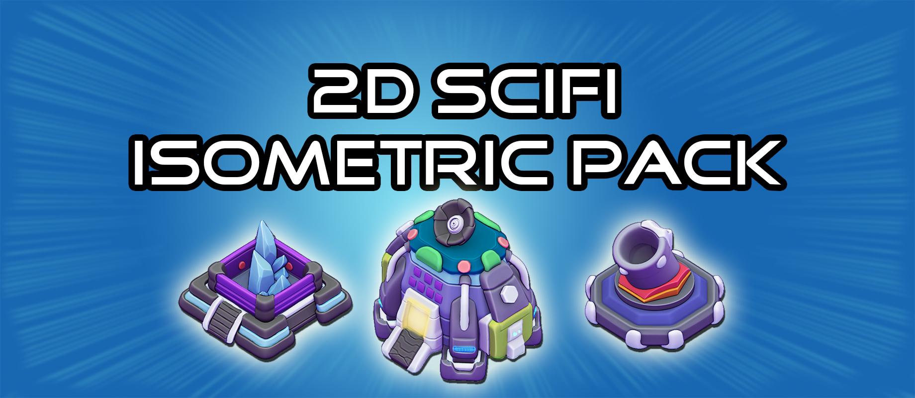 2D Sci-Fi Isometric Pack