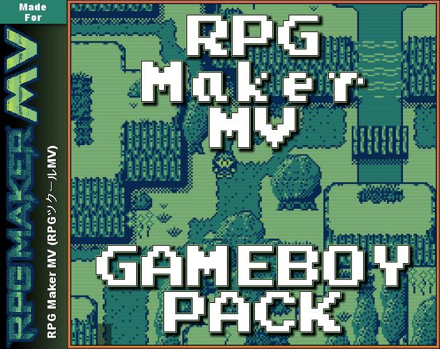 RPG Maker MV Gameboy Pack (RMBoy) [+ Palette Plugin!] by TheUnproPro