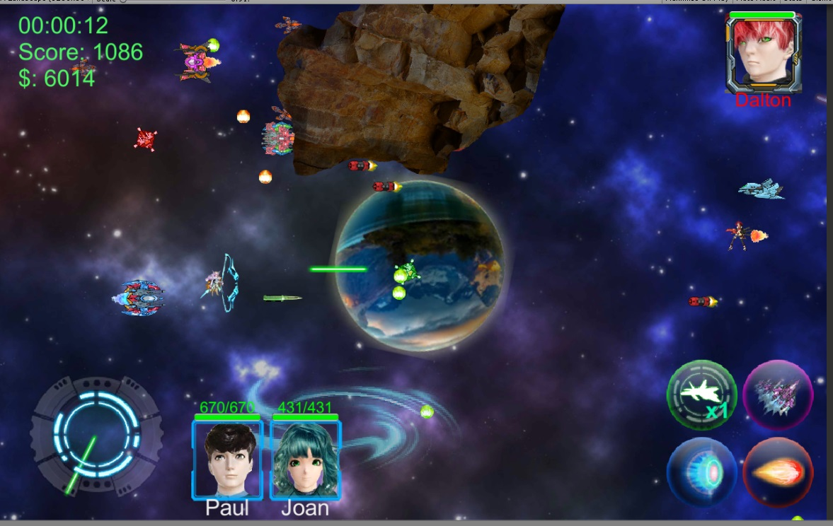 Android Kophan Strategy Space Shooter By Hantrandt