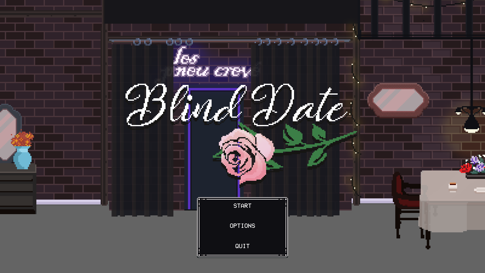 Blind dating ending