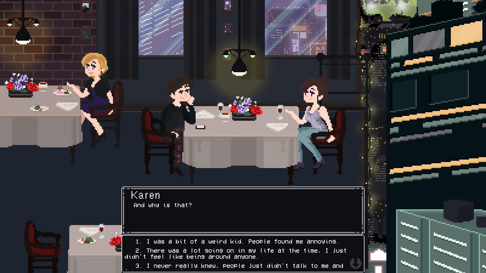 strange dating games