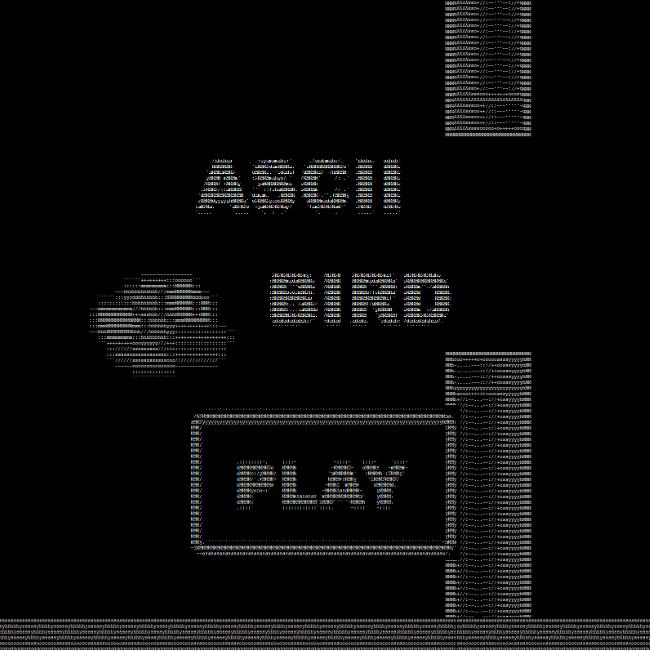 Ascii Bird By Sl1ngshot