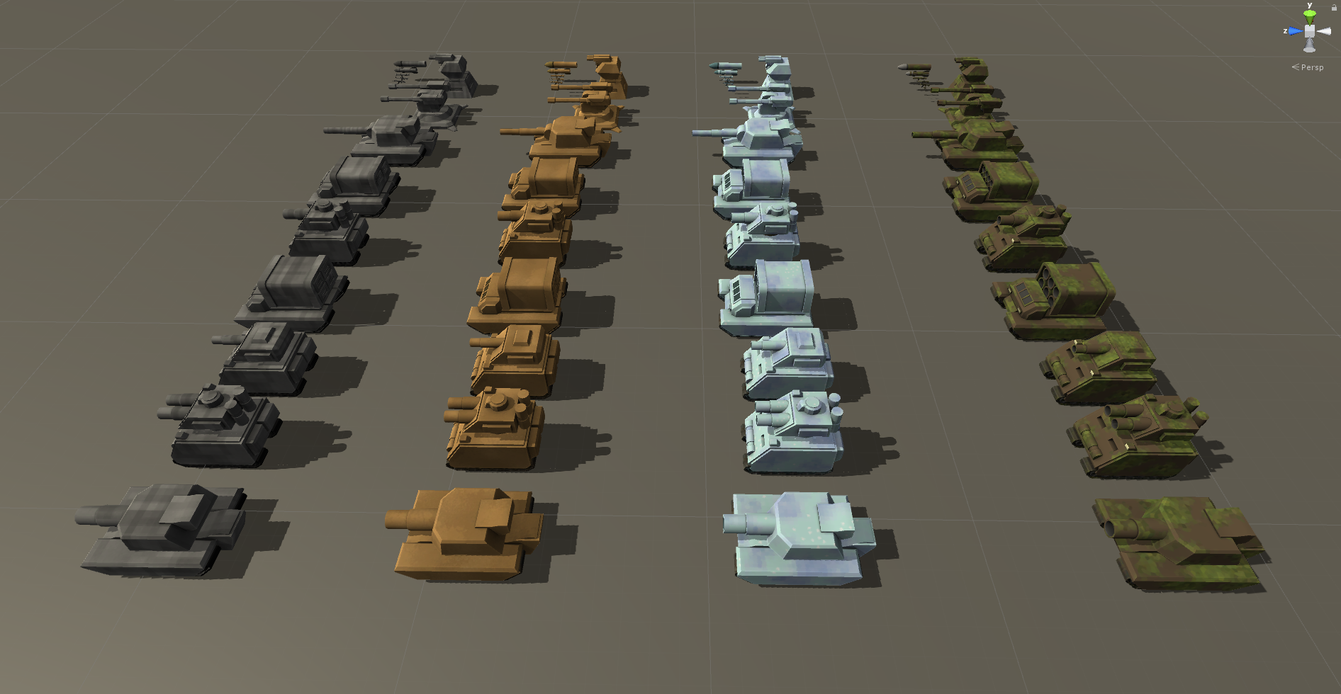 Tanks and Weapons - Unity Package by Robert Ramsay
