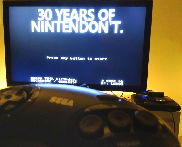 [Megadrive] 30 Years of Nintendon't (+2 jeux bonus) disponible sur cartouche ! HBoiQH