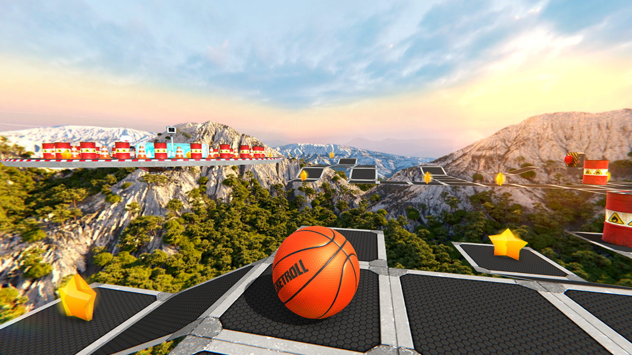 BasketRoll: Rolling Ball Game - BasketRoll: Rolling Ball Game by