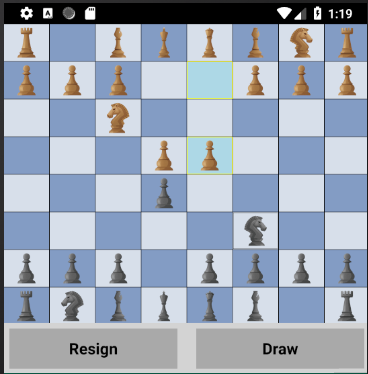 Chess game released for Android - Deep Chess by Lachezar