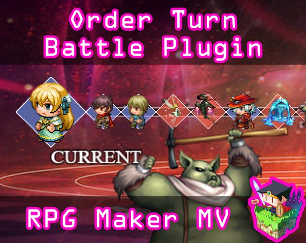 Order Turn Battle System plugin for RPG Maker MV by Olivia
