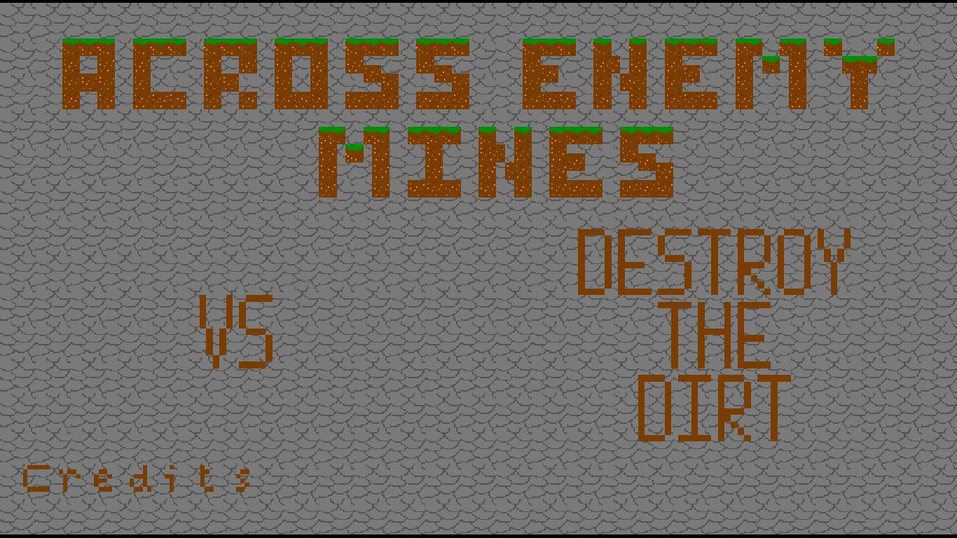 Across Enemy Mines