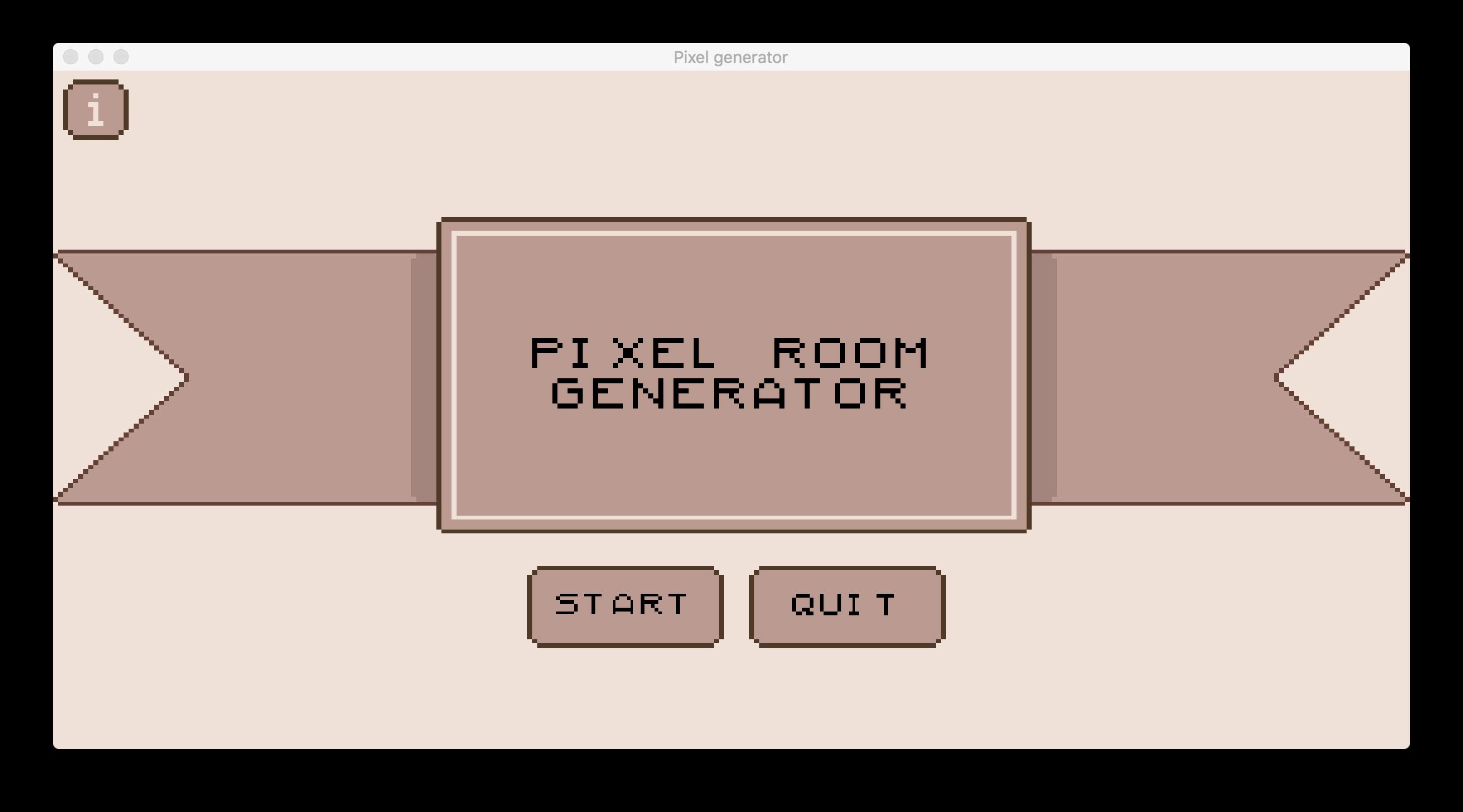 Pixel Room Generator by Love Bird