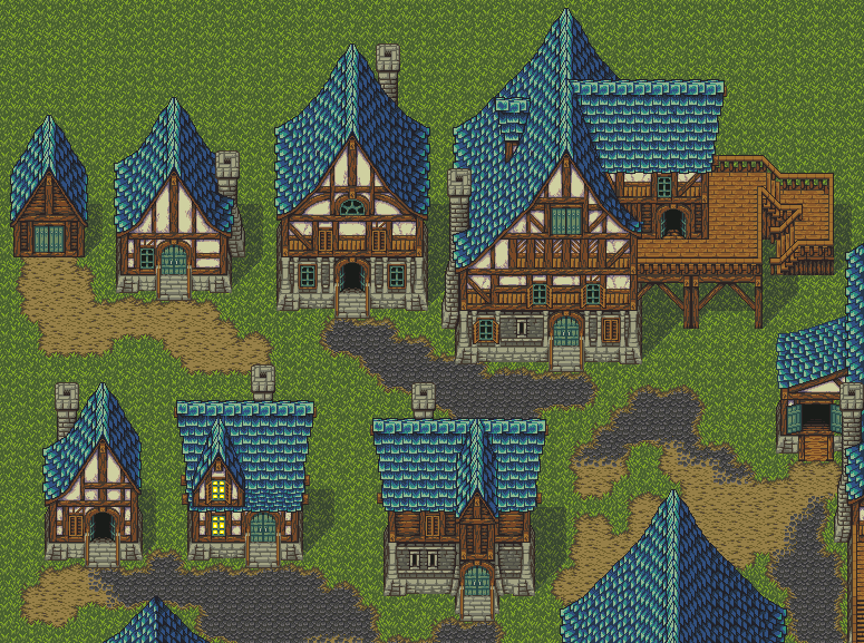 Iconic Homestead A Quot Mana Seed Quot Pixel Art Tileset By