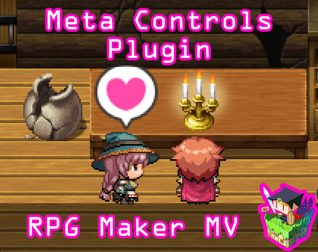 Meta Controls plugin for RPG Maker MV by Olivia