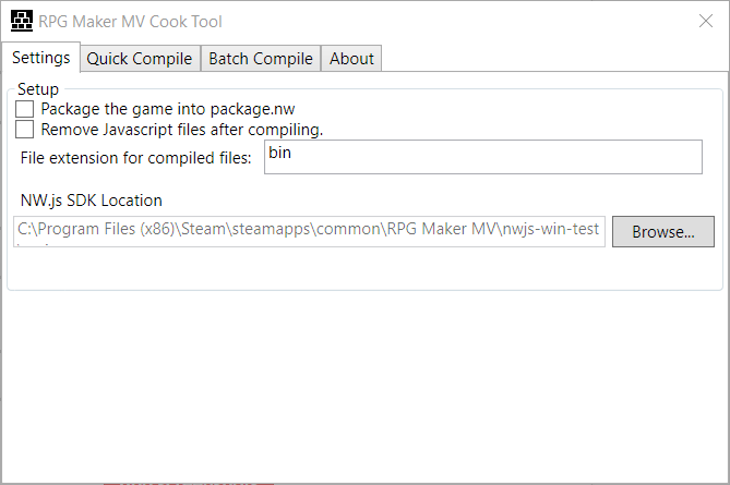 RPG Maker MV Cook Tool by AceOfAces