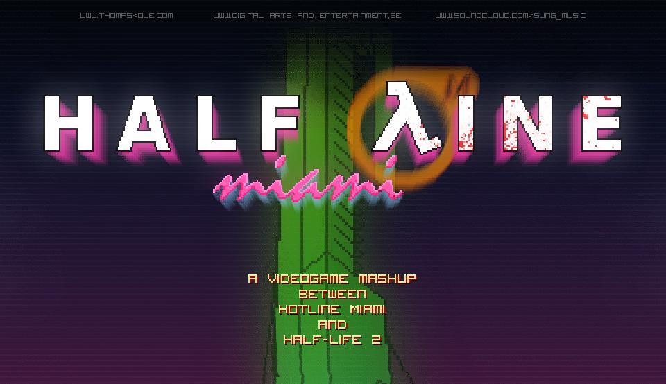 Half-Line Miami by thomaskole