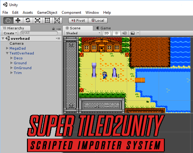 SuperTiled2Unity by Seanba