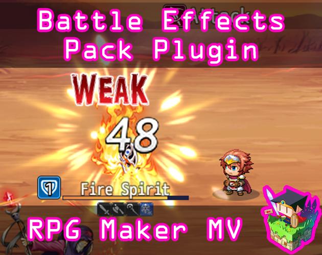 Battle Effects Pack 1 plugin for RPG Maker MV by Olivia