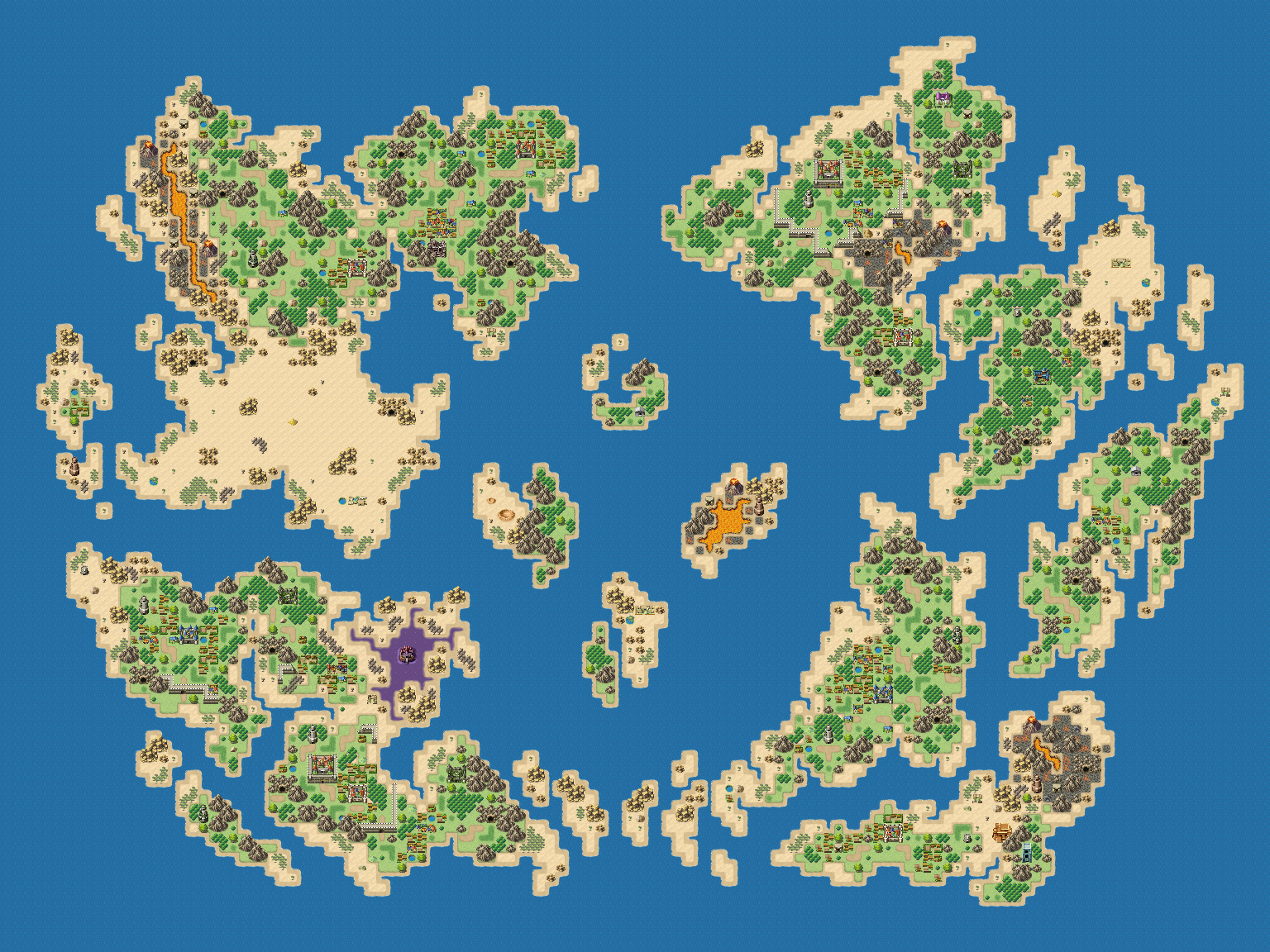 Ardor - Map Resource for RPG Maker MV by LadyLuck