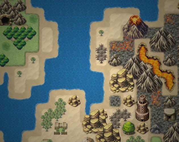 Ardor - Map Resource for RPG Maker MV by LadyLuck