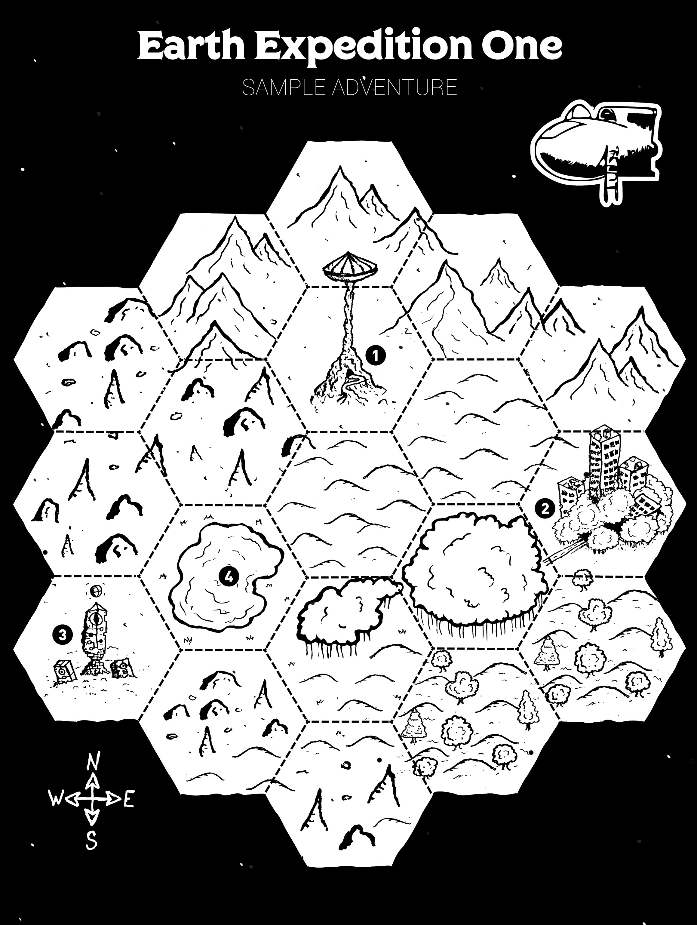 Image result for in the light of the ghost star hex map