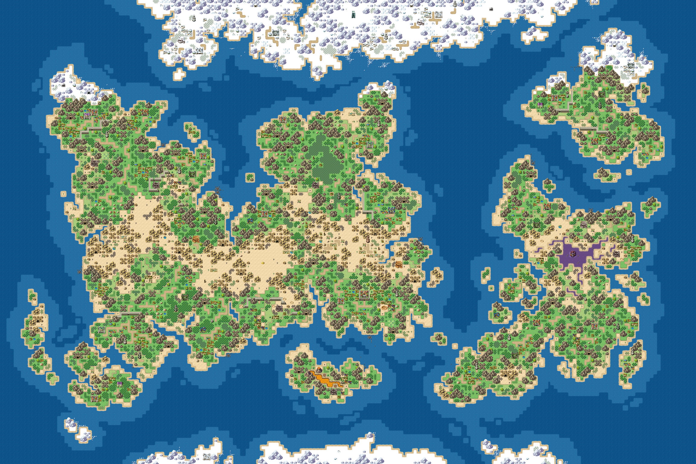 Tilemap] Grand Juno - Resource Map for RPG Makers : gameassets