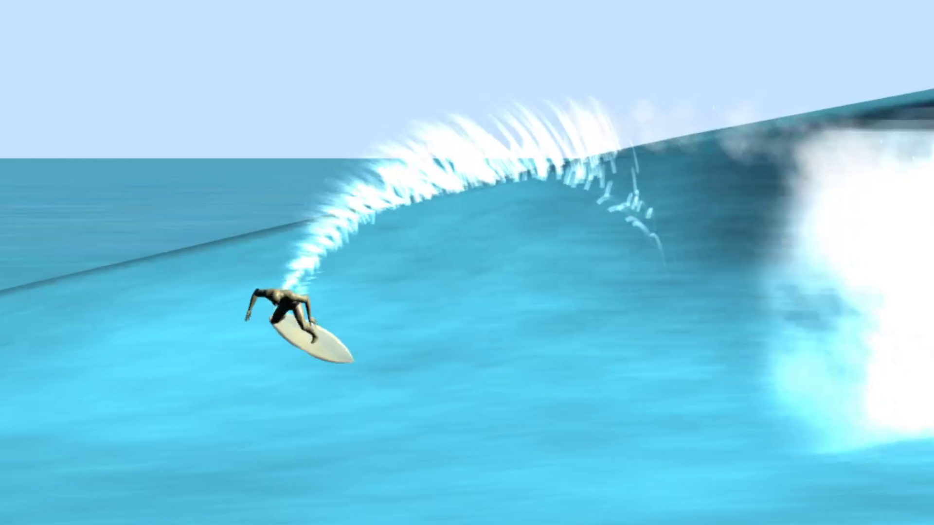 3D Physics Surfing Game Free Demo - Search For Surf by cuttinged