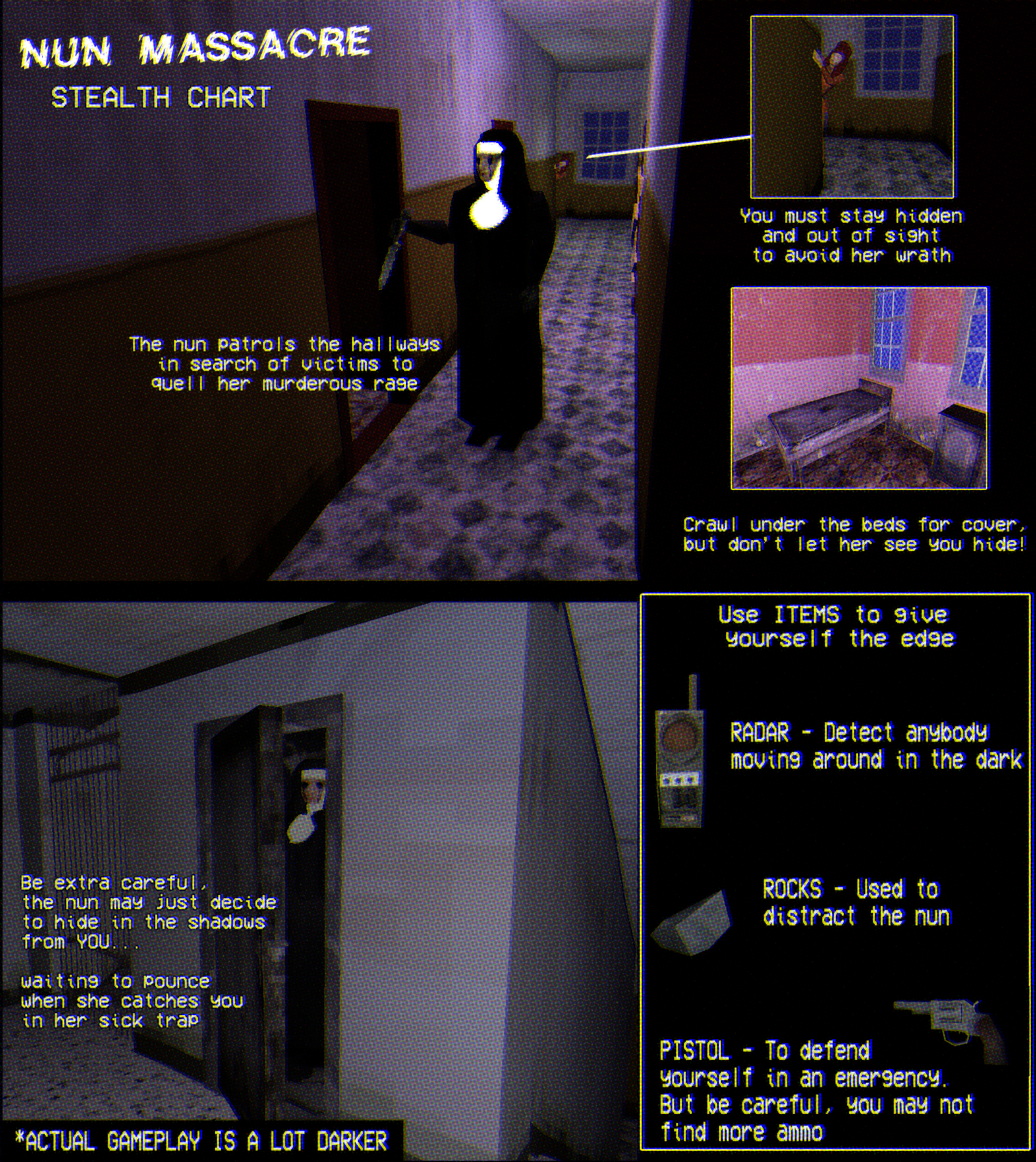 Night of the Nun    aka Nun Massacre by Puppet Combo