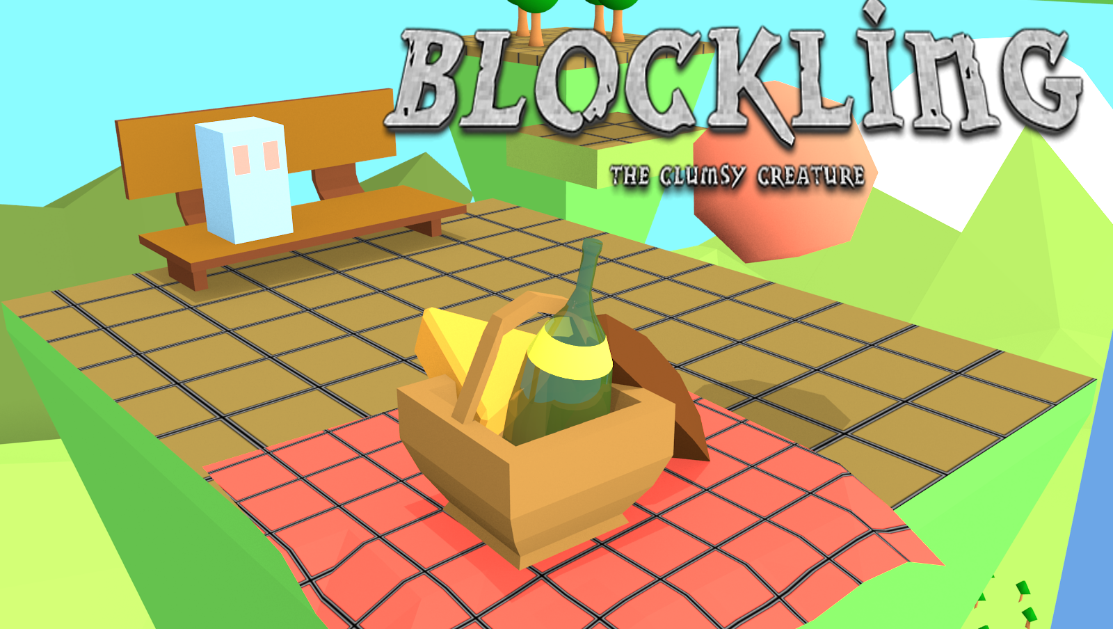 Blockling - the sweet clumsy creature