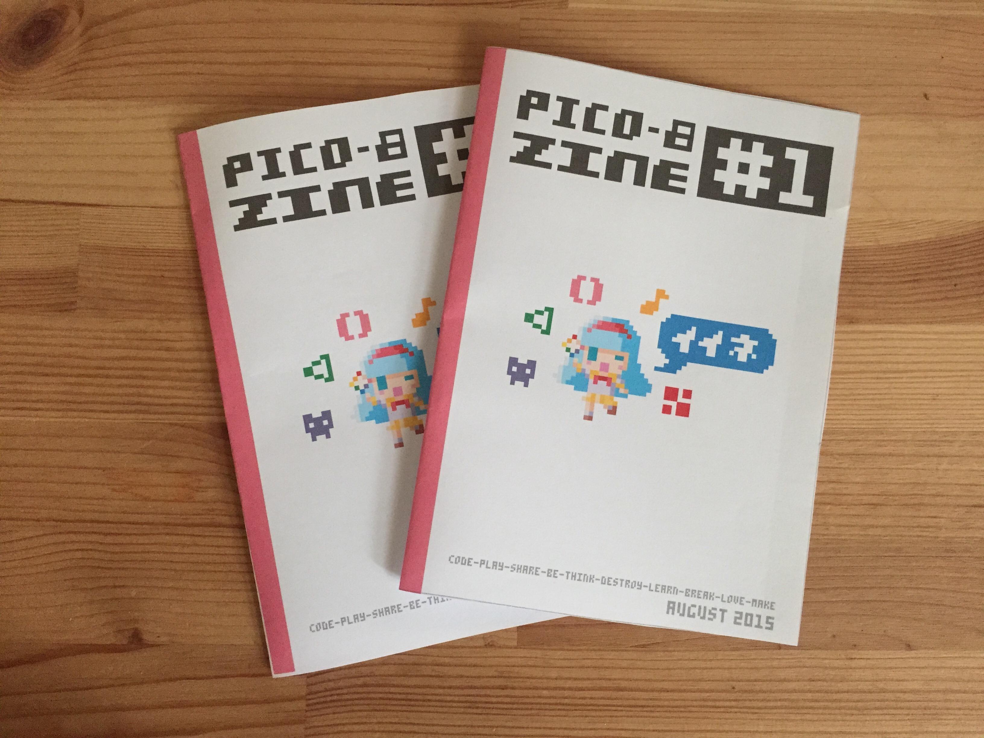 Pico-8 Fanzine  #1