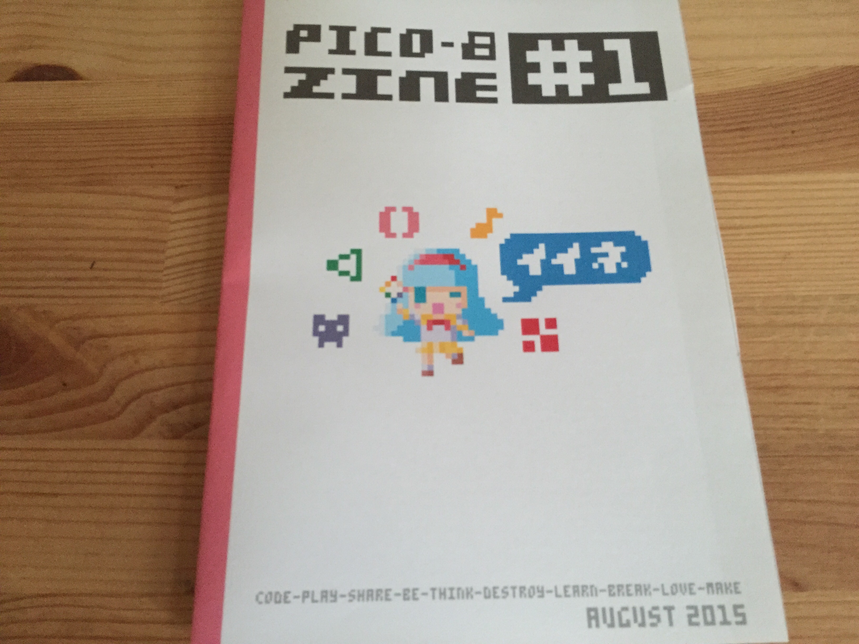 Pico-8 Fanzine #1 by sectordub